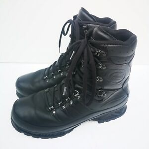 Meindl German Army SF Issue Black Leather GoreTex Combat Boots SUPERGRADE