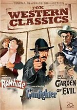 DVD NTSC 1 Fox Classic Western Collection 3 Discs