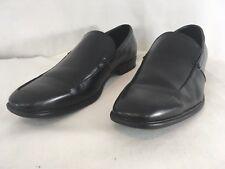 Van Heusen Memory Foam Mens 10 1/2 M Black Slip On Loafers Shoes