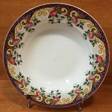 """American Atelier PETITE PROVENCE Rim Soup bowl, 9"""", 5074, Porcelain, Excellent"""