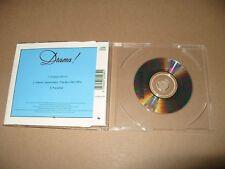 "Erasure Drama 3 Track 3""inch cd Single 1989 very good + Condition"
