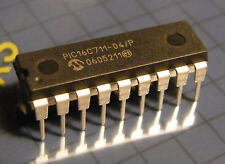 Pic16c711-04/p 8-bit CMOS monitorizza with A/D converter, microchip
