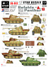 Star Decals 1/35 Befehls-Panther Ausf A and G decals