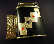 Luxour TABLE Petrol Lighter - Brass - Poker - French Made - Feuerzeug - Briquet