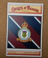 Royal Air force No 77 Squadron Crests & Badges of  the Armed services Postcard