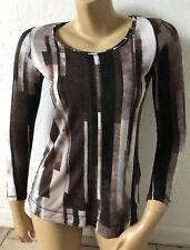 SIMPLY VERA VERA WANG Womens Petite Size PS Long Sleeve T Tee Shirt Sheer