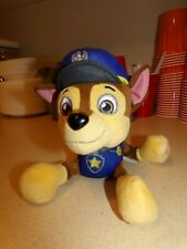 "Nickelodeon Chase Paw Patrol Plush Stuffed Animal Toy Dog Pup 8""."
