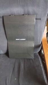 Genuine Saint Laurent Black Gift Bag  52 x 32 x 15cm