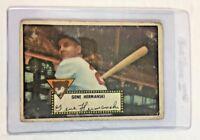 1952 Topps #16 Gene Hermanski Chicago Cubs Baseball Card