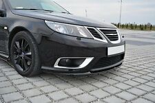 body kit LAMA SOTTO PARAURTI FRONT SPLITTER SAAB 9-3 AERO MK2 FACELIFT