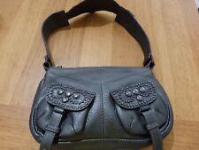 GORGEOUS Hugo Boss Medium Hand/Shoulder Bag Handbag USED ONCE PEWTER SILVER GREY