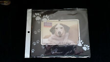 "Dog Paw Print Photo Mouse Pad  6"" x 4"" Picture Frame ~ New"