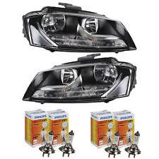 Scheinwerfer Set für Audi A3 8P Bj. 08-12 Philips H7/H7 inkl. Stellmotoren
