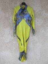 Combinaison ski ROSSIGNOL GORE-TEX jaune made in France XL