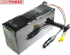 ENERpower Softpack Akku Li-Ion 48V V3 8,8Ah Pedelec eBike DIY 13x4 3XLR LED