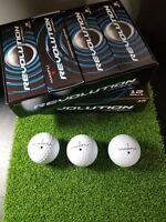 BRAND NEW MAXFLI REVOLUTION DISTANCE GOLF BALLS RETAIL BOX 2 DOZEN 24 IN SLEEVES