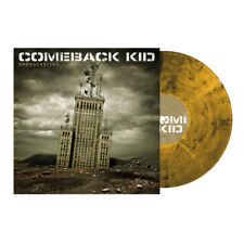 COMEBACK KID - Broadcasting, Limited/219 YELLOW VINYL LP + Download New & sealed