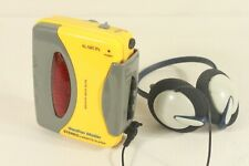 ALARON,WM-11, cassette player walkman with headphones. (ref D 143)