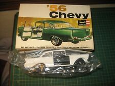 VINTAGE SEALED 1956 CHEVY BELAIR COUPE REVELL MODEL KIT IN BOX W/ BOX RARE NR
