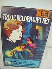 TRIXIE BELDEN GIFT  SET 3 BOOKS GOLDEN 29 30 31 VINTAGE 1980 MYSTERY MYSTERIES