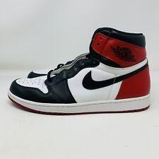 Jordan 1 Black Toe CD0461-016 Size 14