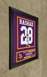 Ahmad Rashad Minnesota Vikings Framed 8x10 Jersey Photo