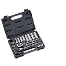 "Mintcraft TS1020-M Socket Set Sae-20-Piece 3/8"" Drive"