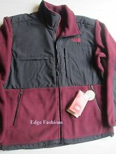 Men's Malbec Red The North Face Denali Fleece Winter Fall Jacket Coat Large L