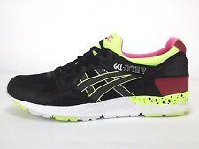 Asics Gel - Lyte V H5Y1L 9090 Black Mesh Flourescent Running Shoes Mens 11 NIB