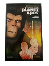 """More details for conquest of the planet of the apes caesar 12"""" figure sideshow collectables"""