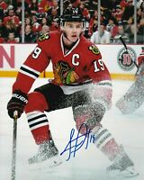 Jonathan Toews Autographed Signed 8x10 Photo ( Blackhawks ) REPRINT