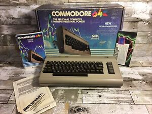 VTG COMMODORE 64 COMPUTER UNTESTED SELLING FOR PARTS ONLY GREAT COSMETICALLY