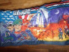 GI Joe Childs Sleeping Bag Crusader Cobra Explosion Duke Vtg 1980s