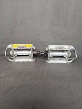 "SR SP-152 Pedals Alloy 9/16"" Road Touring Silver Vintage 1 Pedal No Reflectors"