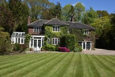Cheshire detached country house in 2 acres of gardens outbuildings 18 car garage