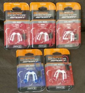 Shock Doctor Sport Gel Max Mouth Guard Youth 10- (Lot of 5)