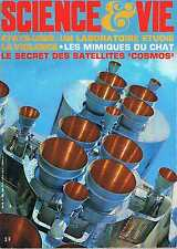 Science Et Vie   N°609  juin 1968:La violence Les mimiques du chat Le secret des
