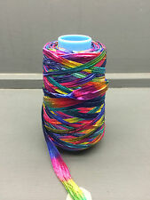 200G BRIGHT COLOURED SPACE DYED NYLON YARN 1.1NM PEONIA