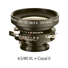 Brand new  Schneider Super-Symmar XL 80 mm F/4.5 ASP Lens