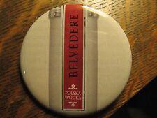 Belvedere Polish Polska Vodka Bottle Label Logo Advertisement Lapel Button Pin