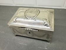 Antique Berlin German Sterling Silver Sugar Etrog Judaica Box 18th/19th Century