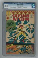 Captain Atom #83 CGC 8.0 Charlton 1966 1st Blue Beetle! Ted Kord!