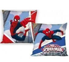 Cojin Spiderman 40x40 cm. Desenfundable con cremallera. Reversible. Con relleno