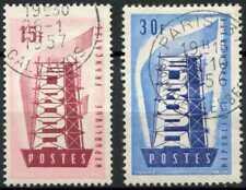 France 1956 SG#1301-2 Europa Used Set #E5898