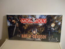 Harley Davidson Authorized Edition Monopoly Board Game NEW Factory Sealed