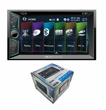 "Soundstream 6.2"" 2-DIN Touchscreen CD/MP3 Car Stereo Bluetooth 4.0 VR-624B"