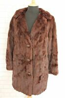 "True Vintage 1940's Real Canadian Squirrel Fur Jacket,Chest 38"" Size 10"