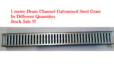 1m Drainage Channel Steel/Plastic 90 Deg Corner Outlet Stopend FREE P&P OVER £30