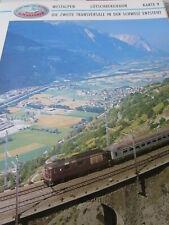Alpenbahnen N Westalpen Lötschbergbahn Interlaken Domodossola Schweiz K9-14