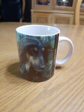 Collectible Afghan Dog Coffee Mug Cup Barbara Augello Xpres Corp. 1994
